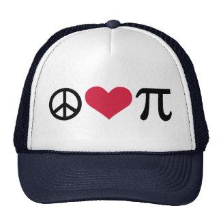 Peace, Love & Pi Trucker Hat