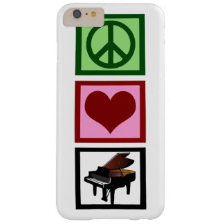 Peace Love Piano Barely There iPhone 6 Plus Case