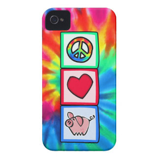 Peace, Love, Pigs iPhone 4 Cover