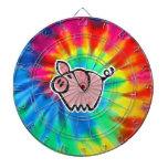 Peace, Love, Pigs Dartboard