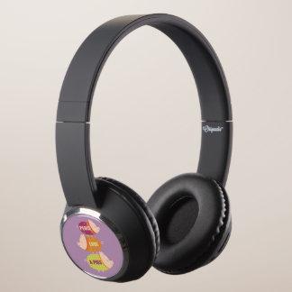 Peace Love & Pigs Headphones