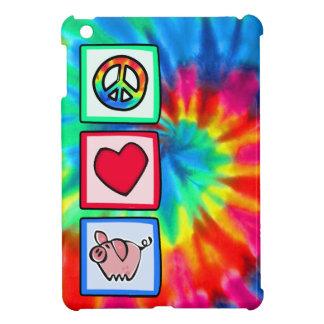 Peace, Love, Pigs iPad Mini Cases