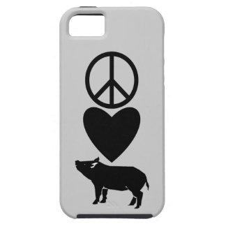 Peace Love Pigs iPhone 5 Case