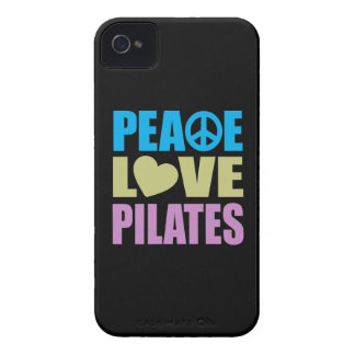 Peace Love Pilates iPhone 4 Cover