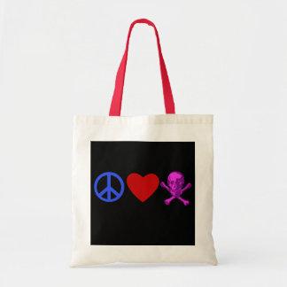 Peace Love Pirates T-shirts, Mugs, Gifts Tote Bag
