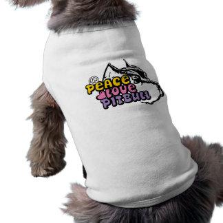 Peace Love Pitbull, Anti BSL Pet Tshirt