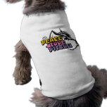 Peace Love Pitbull, Anti BSL Pet Tee Shirt