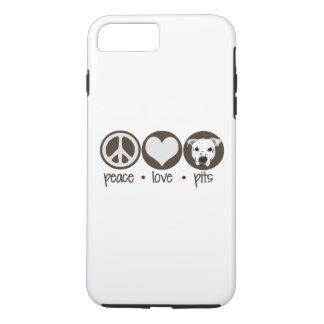 Peace Love Pits iPhone 8 Plus/7 Plus Case