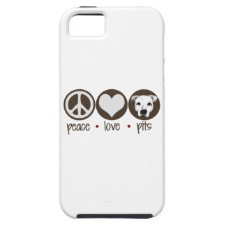 Peace Love Pits iPhone SE/5/5s Case