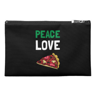 Peace Love Pizza Travel Accessories Bags