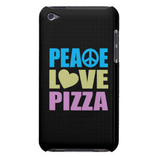 Peace Love Pizza Barely There iPod Cases