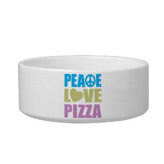 Peace Love Pizza Bowl