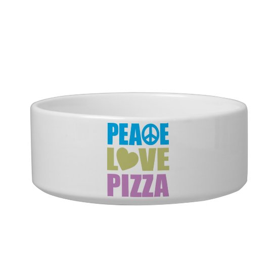 Peace Love Pizza Bowl