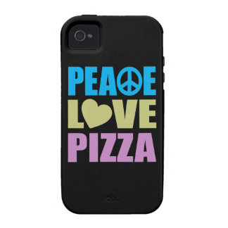 Peace Love Pizza iPhone 4 Cover