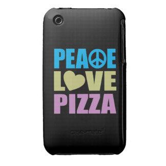 Peace Love Pizza iPhone 3 Case-Mate Case
