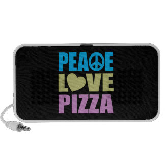 Peace Love Pizza Speaker