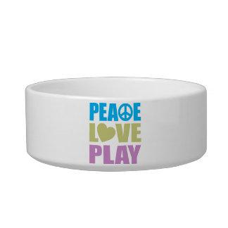 Peace Love Play Bowl