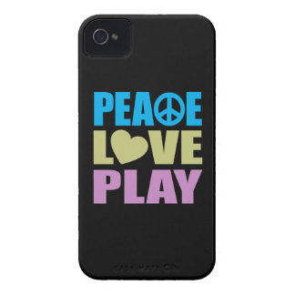 Peace Love Play Case-Mate iPhone 4 Case