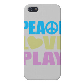 Peace Love Play Cover For iPhone 5