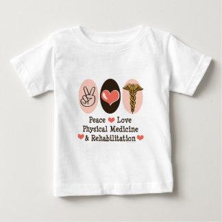 Peace Love PM&R Baby T shirt