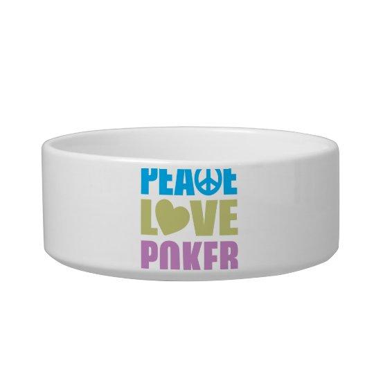 Peace Love Poker Bowl