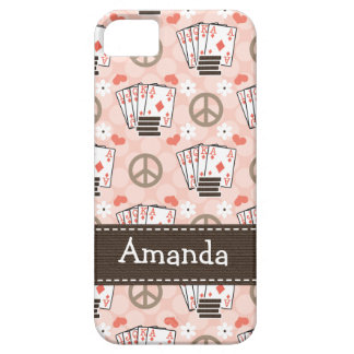 Peace Love Poker iPhone 5 Cases