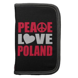 Peace Love Poland Folio Planner