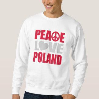 Peace Love Poland Sweatshirt