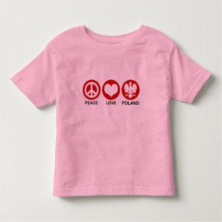 Peace Love Poland Shirt