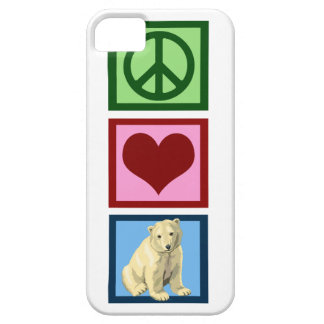 Peace Love Polar Bears iPhone 5 Case