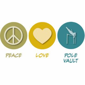 Peace Love Pole Vault Photo Cutouts