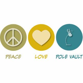 Peace Love Pole Vault Acrylic Cut Out
