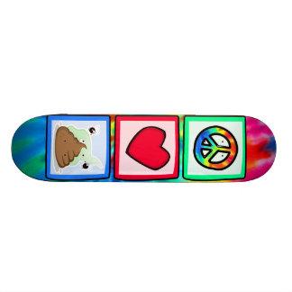 Peace, Love, Poop Skateboard