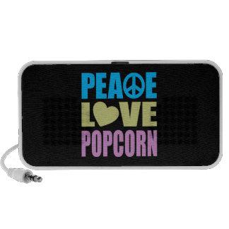 Peace Love Popcorn Travelling Speakers