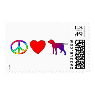 Peace Love Porcelaines Postage