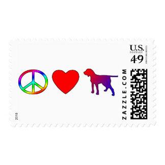 Peace Love Porcelaines Postage