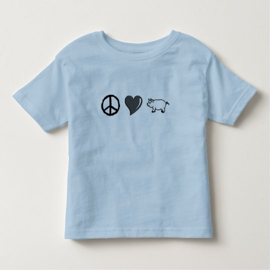 Peace Love Pork Toddler T-shirt