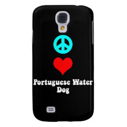 Case-Mate Barely There Samsung Galaxy S4 Case with Portuguese Water Dog Phone Cases design