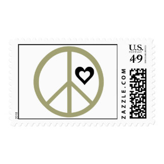 Peace & Love Postage