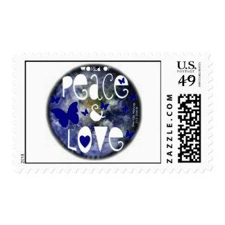 Peace & Love - Postage