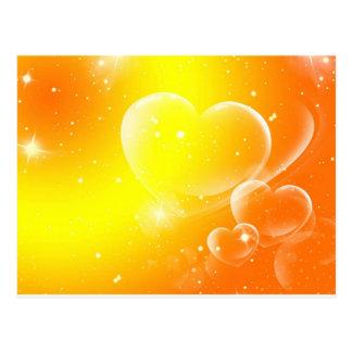 Peace & Love Postcard