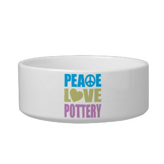 Peace Love Pottery Bowl