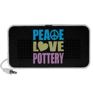 Peace Love Pottery Speaker