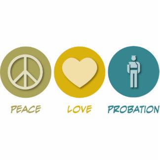 Peace Love Probation Photo Sculpture
