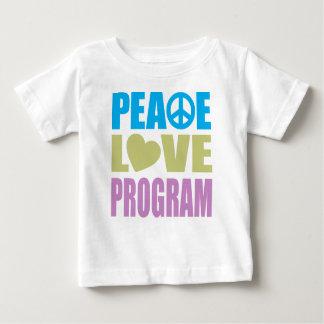 Peace Love Program Baby T-Shirt