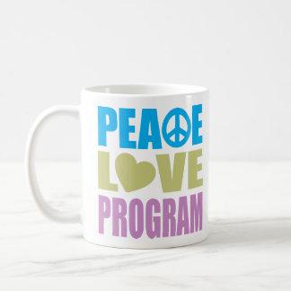 Peace Love Program Coffee Mug