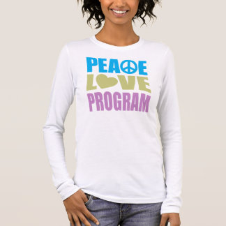 Peace Love Program Long Sleeve T-Shirt