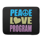 Peace Love Program MacBook Pro Sleeve
