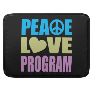Peace Love Program MacBook Pro Sleeve