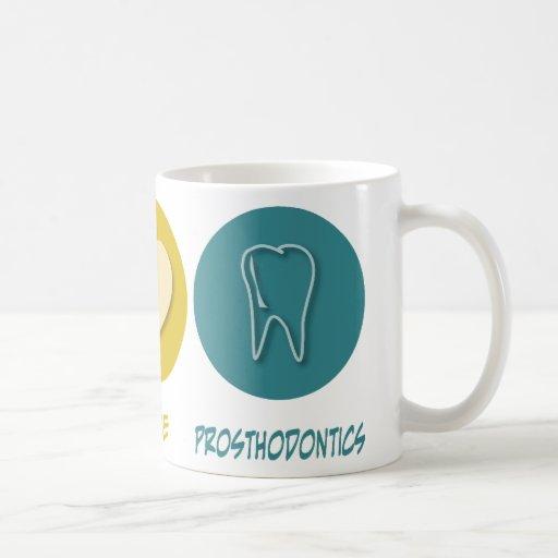 Peace Love Prosthodontics Classic White Coffee Mug